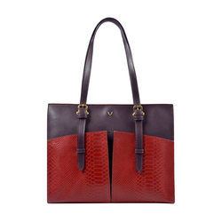 Virgo 02 Sb Women's Handbag, Snake Melbourne Ranch,  red