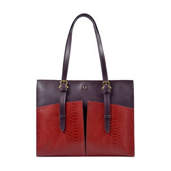 Virgo 02 SB Women's Handbag Snake,  red