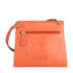 Zoey Women s Handbag, Baby Croco Melbourne Ranch,  lobster