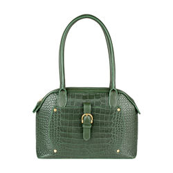 Mercury 01 Sb Women's Handbag, Cow Croco Melbourne Ranch,  green
