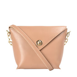 Hidesign X Kalki Uptown 01 Women's Sling bag, Ranch,  nude