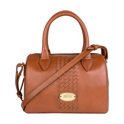 Treccia 03 Women's Handbag, Soho,  tan