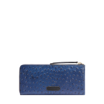 JAZZ W1 (RFID) WOMEN S WALLET OSTRICH EMBOSS,  midnight blue