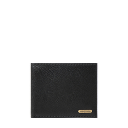 017SC(RFID) MENS WALLET PRINTED REGULAR,  black