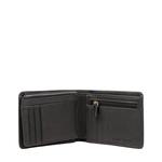 362-L107 RF MENS WALLET COW BOY,  black