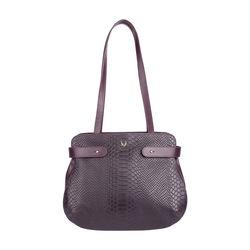 Brigitte 01 Handbag,  aubergine