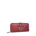 Cera W3 Women s Wallet, Elephant Melbourne Ranch,  red