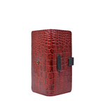 SCORPIO W1 SB (RF) WOMEN S WALLETS CROCO,  red