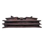 Castello Briefcase, Ranchero Maori,  brown
