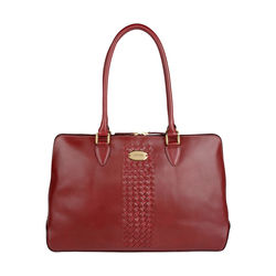 Treccia 02 Women's Handbag, Soho,  red