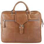 Golf 02 Briefcase,  tan, regular