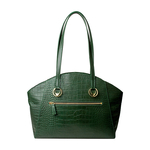 Bonnie 01 Women s Handbag, Croco Melbourne Ranch,  emerald green