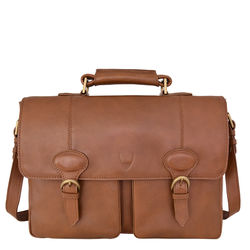 Parker 02Messenger bag, regular,  tan