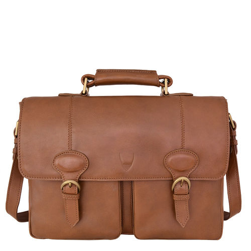Parker 02 Briefcase,  tan, regular
