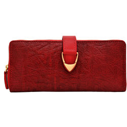Yangtze W2 (Rfid) Women's Wallet, Elephant Mel Ranch,  red