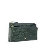 Sb Paola W1 Women s Wallet, Croco,  emerald green