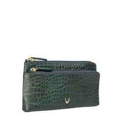 Sb Paola W1 Women's Wallet, Croco,  emerald green