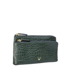 Sb Paola W1 Women's Wallet, Croco,  emerald green
