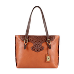 SALLY SCULL 01 WOMENS HANDBAG IDAHO,  tan