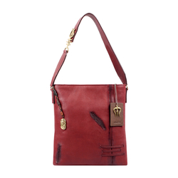 SADHAVI 02 WOMENS HANDBAG COW BOY,  marsala