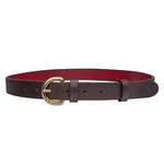 Mariko Women s Belt, Soho Ranch, 36-38,  brown