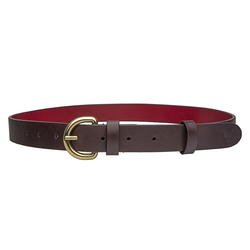 Mariko Women's Belt, Ranch 32-34,  brown