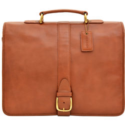 Bolton Briefcase, regular,  tan