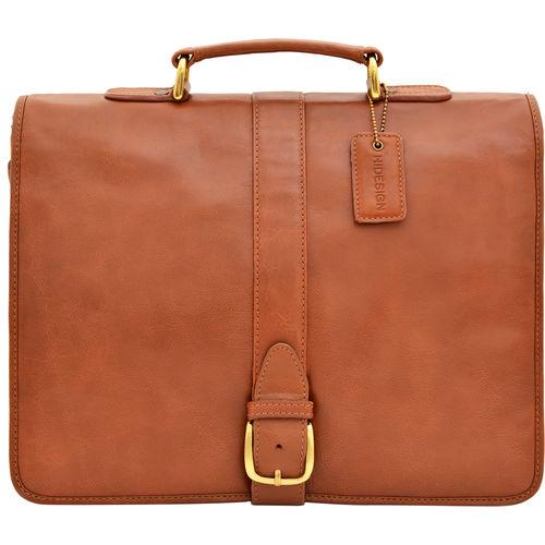 Bolton Briefcase,  tan, regular