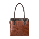 Sb Fabiola 02 Women s Handbag Croco,  tan
