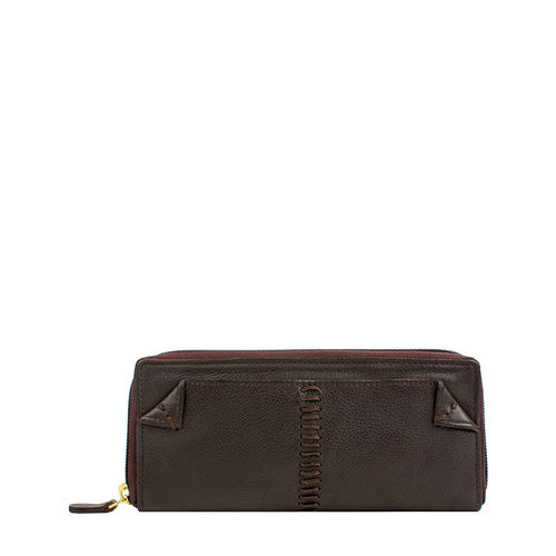 Stitch W2 Women s wallet, Roma Melbourne Ranch,  brown