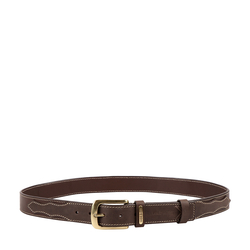TAOS MENS BELT MELBOURNE RANCH,  brown, 34-36