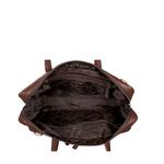 CONFUCIUS 02 BRIEFCASE SOHO,  brown