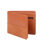 363-L103 RF MENS WALLET SADDLE,  tan