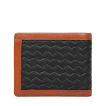 343 2020 RF SB MENS WALLET WOVEN MELBOURNE RANCH,  tan