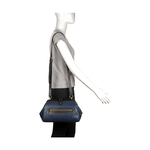 JAZZ 03 WOMEN S HANDBAG OSTRICH EMBOSS,  midnight blue