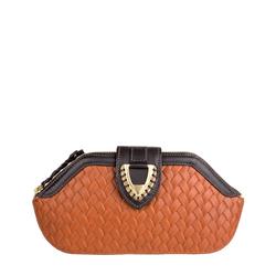 Ee Liya W1 Women's Wallet, Woven,  tan