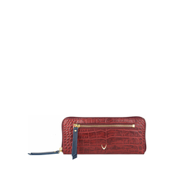 Jupiter W2 Sb (Rfid) Women's Wallet, Croco Melbourne Ranch,  red