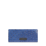 JAZZ W3 (RFID) WOMEN S WALLET OSTRICH EMBOSS,  midnight blue