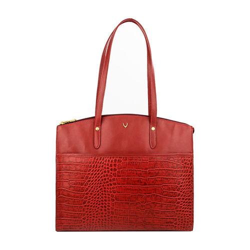 Sb Fabiola 01 Women s Handbag, Croco Melbourne Ranch,  red
