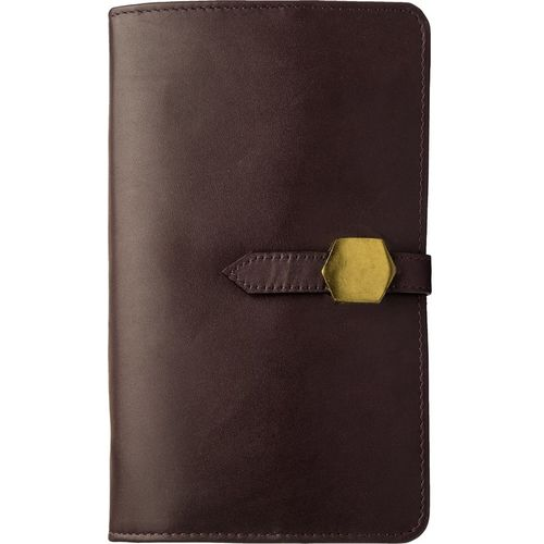 TRAVEL WALLET,  aubergine
