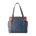 Gemini 01 Sb Women s Handbag, Andora Snake,  midnight blue