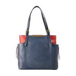 Gemini 01 Sb Women's Handbag, Andora Snake,  midnight blue