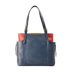 Gemini 01 Sb Women's Handbag, Andora Snake,  midnight blue