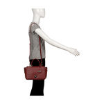 Azur Women s Handbag Ostrich,  brown