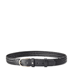 Pisa Men s Belt 40-42 Ranchero Woven,  black
