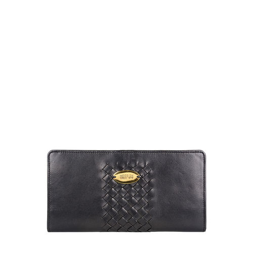 Treccia W1(rf) Wallet,  black