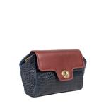 Sb Atria 04 Women s Handbag Croco,  midnight blue