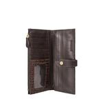 Hongkong W1 Sb (Rfid) Women s Wallet Croco,  brown