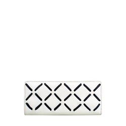 Kochab W1 (Rfid) Women's Wallet, Cowdeer Melbourne Ranch,  white