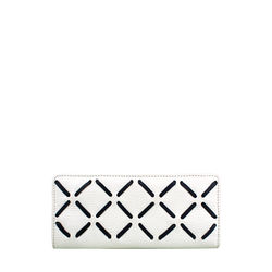 Kochab W1 Women's Wallet, Cow Deer Melbourne Ranch,  white, cow deer